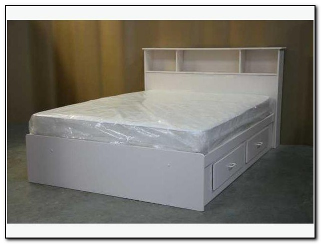 Full Bed Frame White