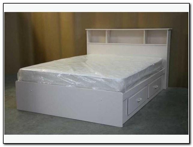 Full Bed Frame White