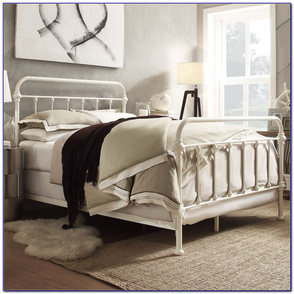 Full Bed Frame With Hooks