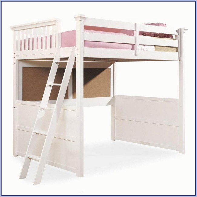 Full Loft Bed Frame Wood