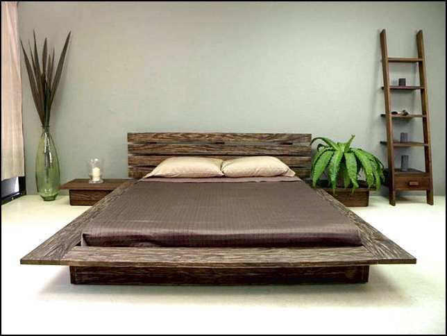 Full Platform Bed Frame Cheap