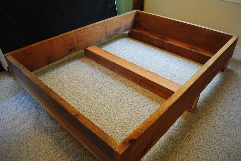 Full Platform Bed Frame Diy