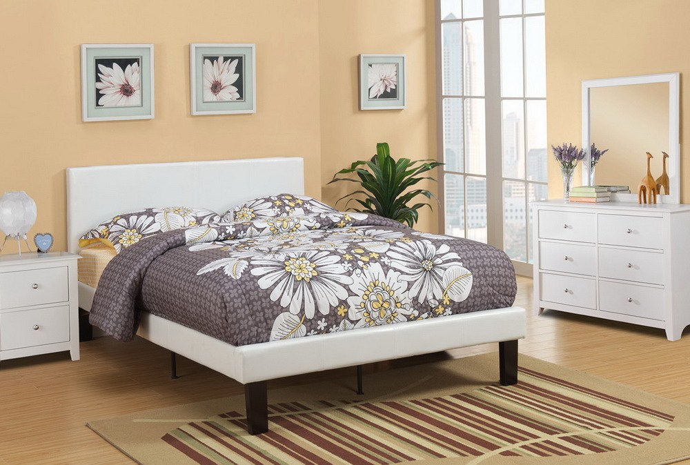 Full Size Bed Frame With Headboard Attachments