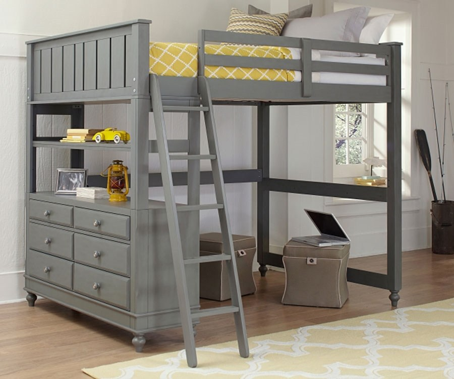 Full Size Loft Bed Frame For Sale