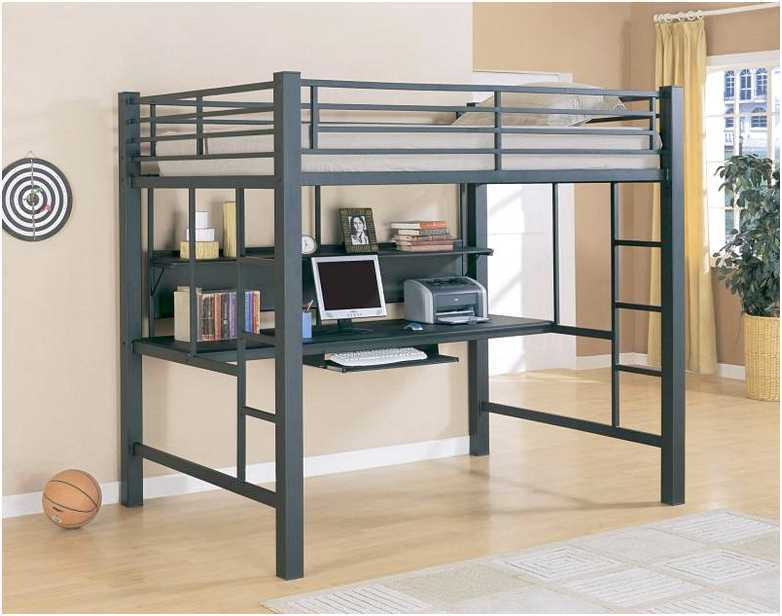 Full Size Loft Bed Frame Ikea
