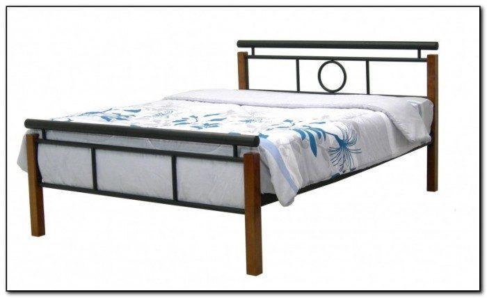 Full Size Metal Bed Frame Target