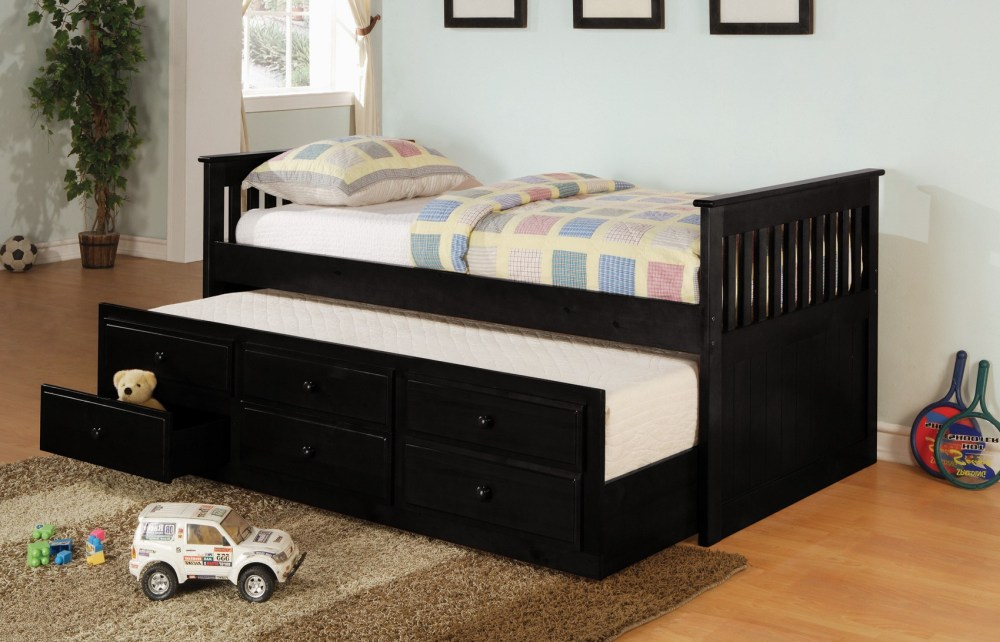 Full Size Pop Up Trundle Bed Frame