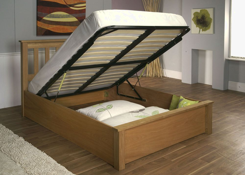 Full Size Wood Platform Bed Frame