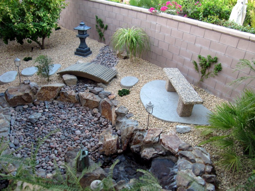 Garden Ideas With Rocks
