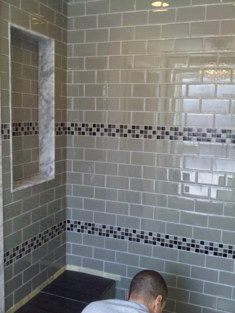 Glass Tile Bathroom Ideas Pictures