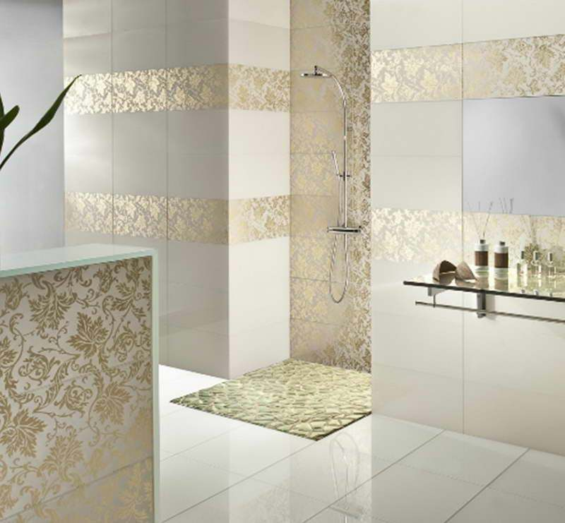 Glass Tile Bathroom Ideas