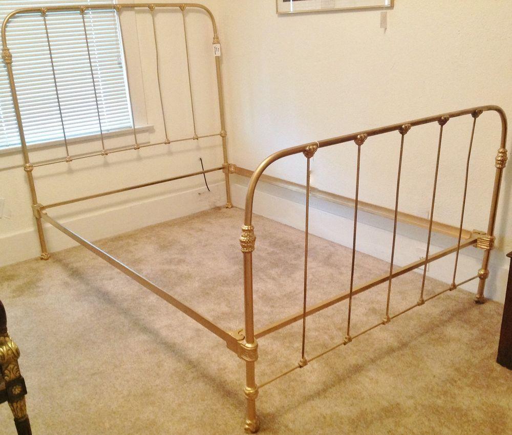 Gold Bed Frame