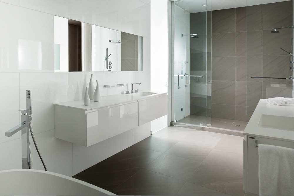 Gray And White Bathroom Ideas