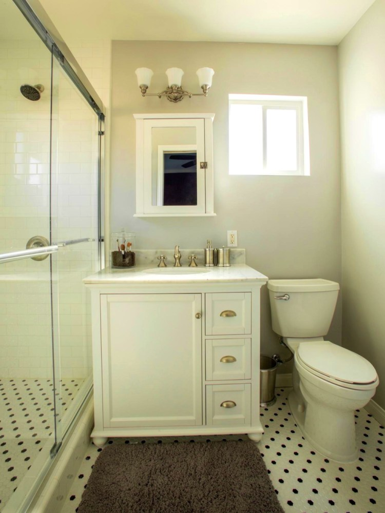 Gray And White Bathroom Images