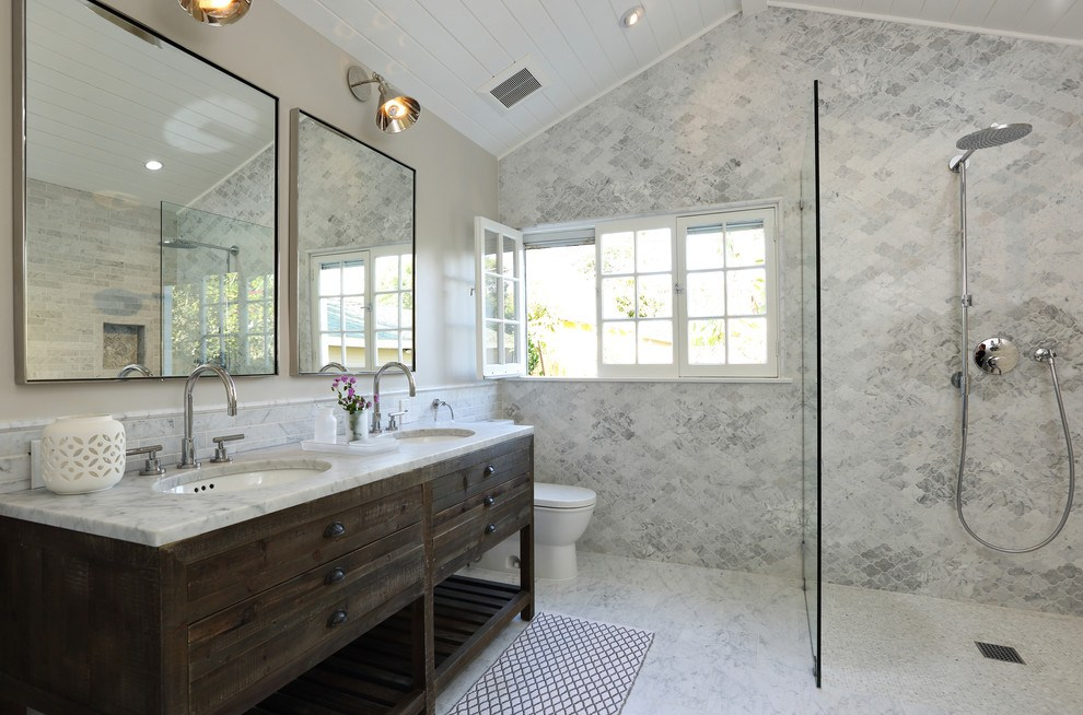 Gray And White Master Bathroom Ideas