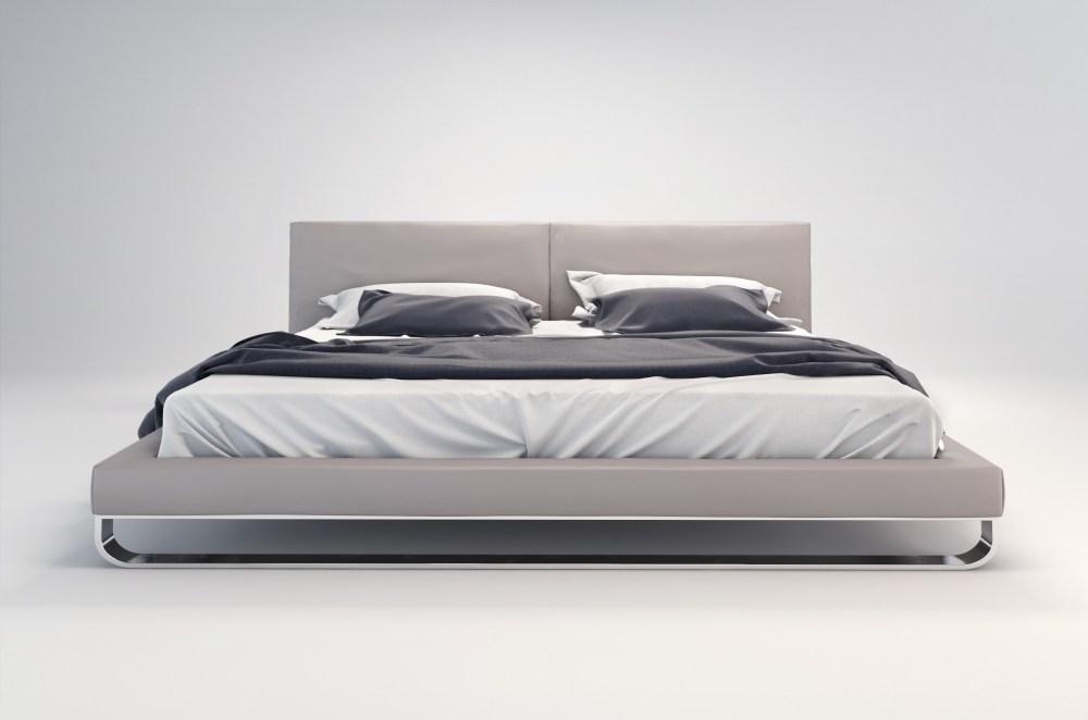 Gray Bed Frame King