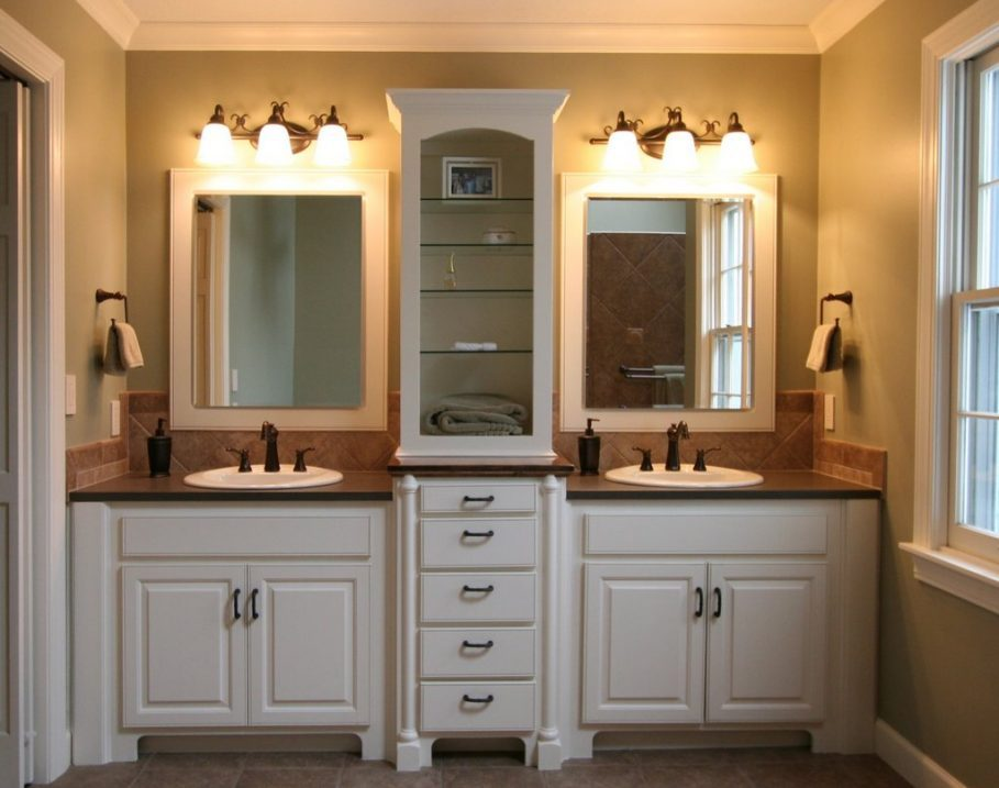 Gray Brown And White Bathroom Ideas