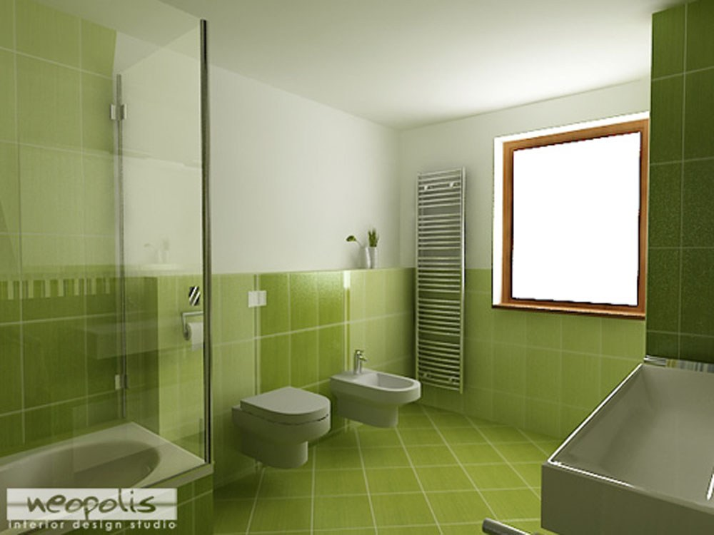 Green Bathroom Ideas Pinterest