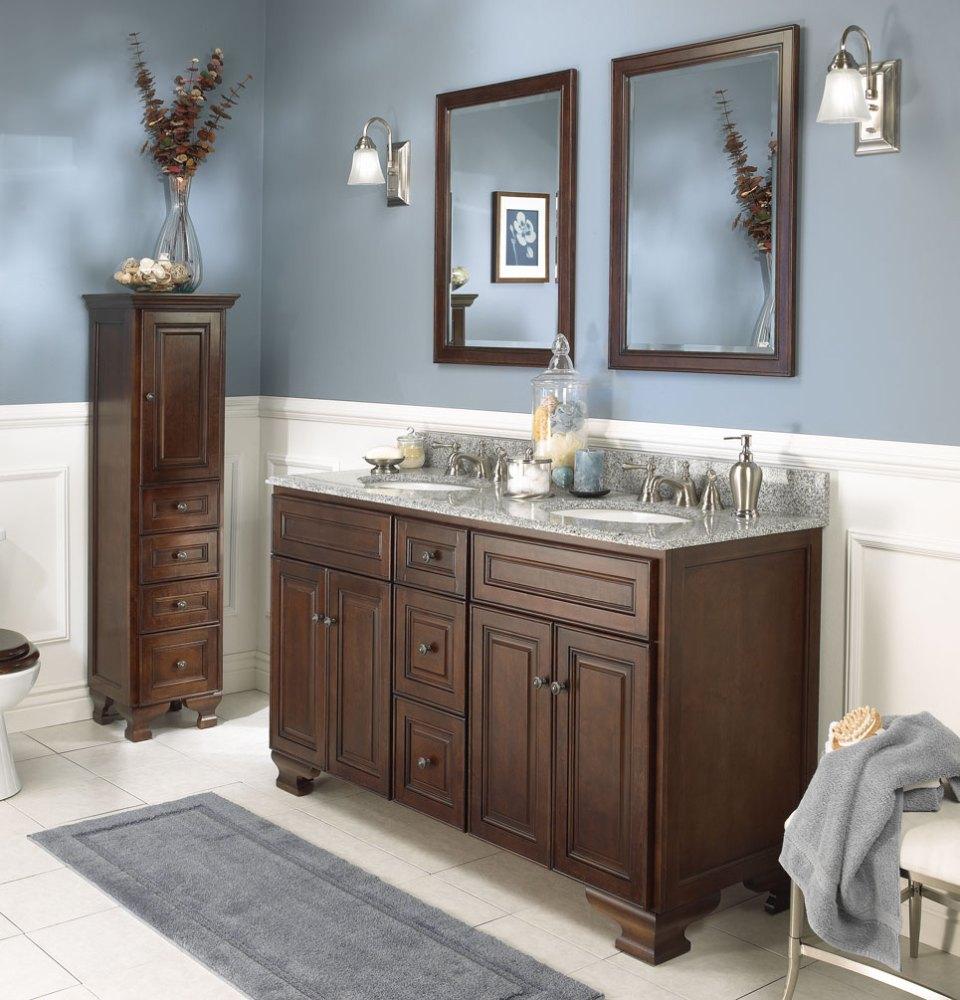 Grey Bathroom Cabinet Ideas