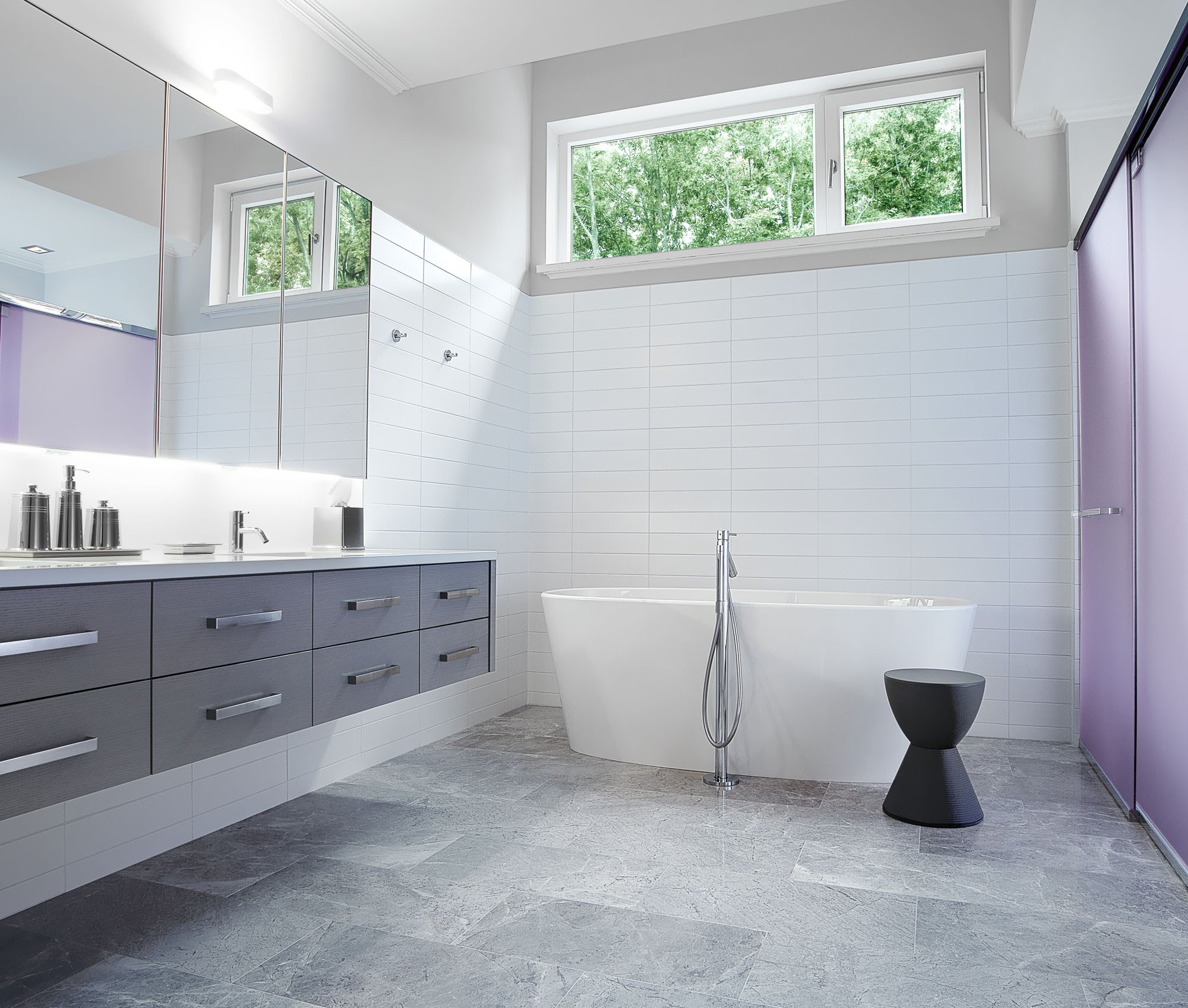 Grey Bathroom Ideas Tiles