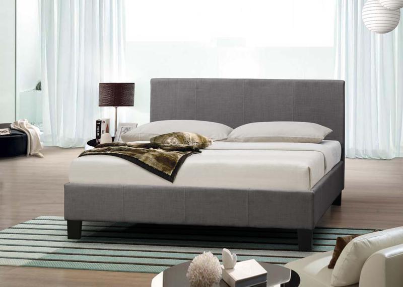 Grey Bed Frame King
