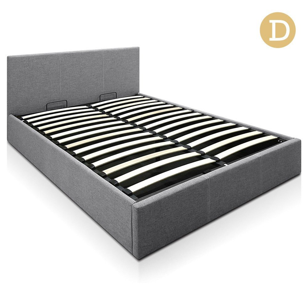 Grey Fabric Bed Frame Australia