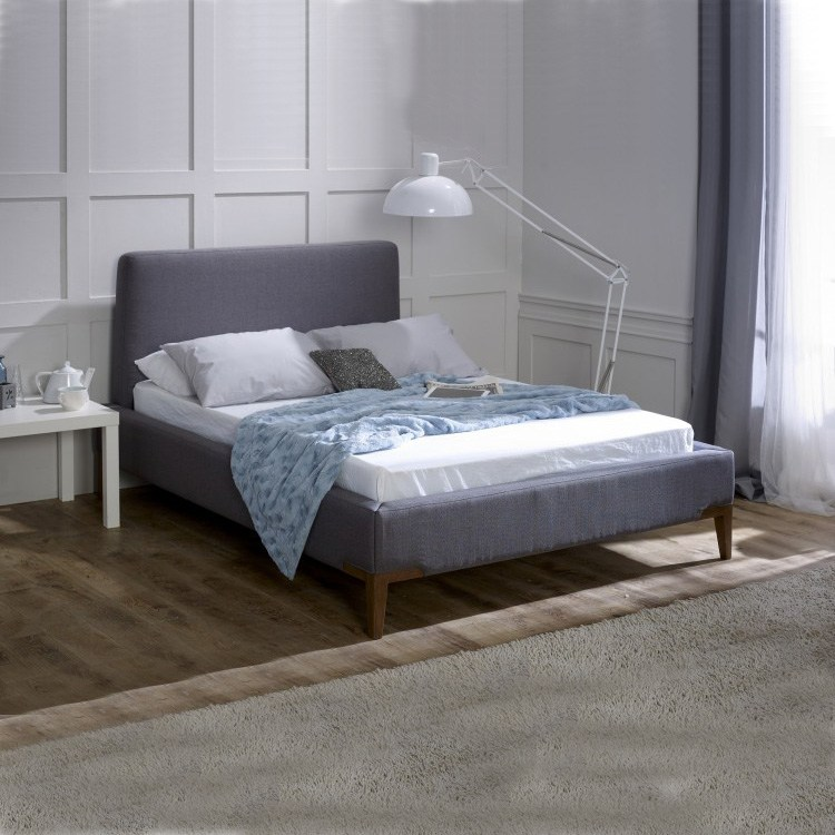 Grey Fabric Bed Frame Uk