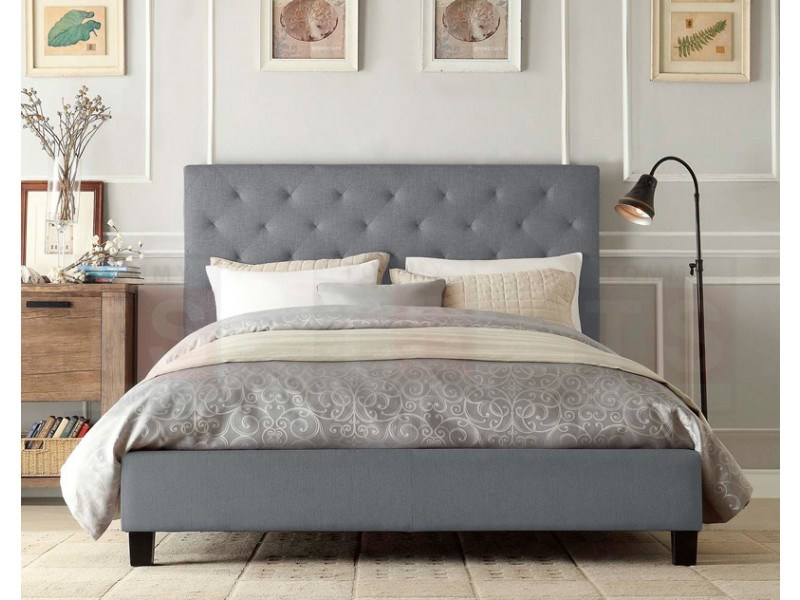 Grey Queen Bed Frame