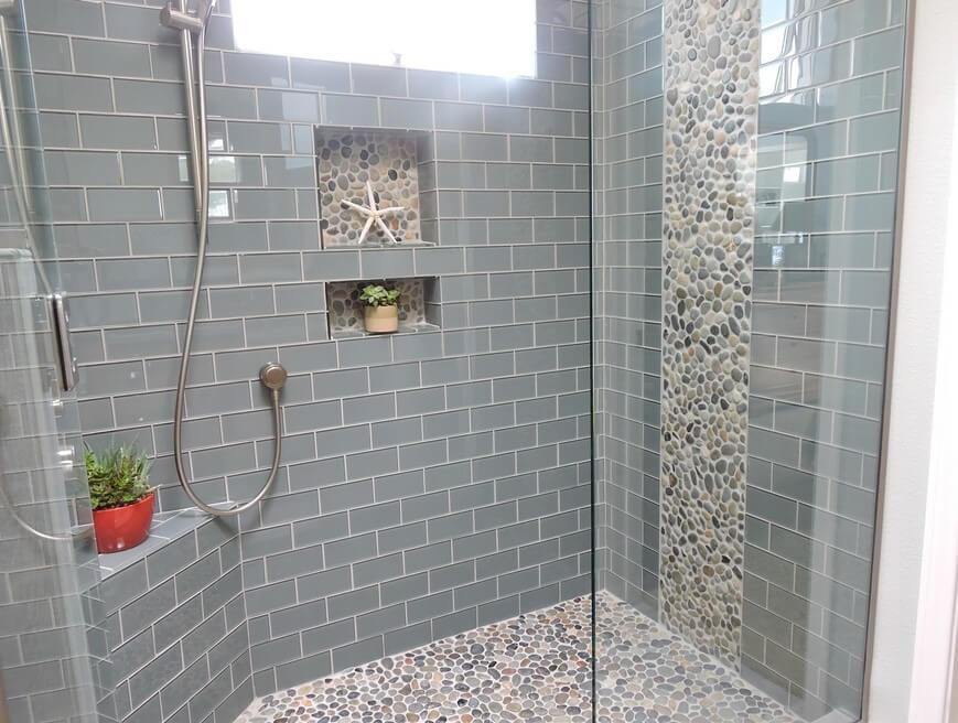 Grey Subway Tile Bathroom Ideas