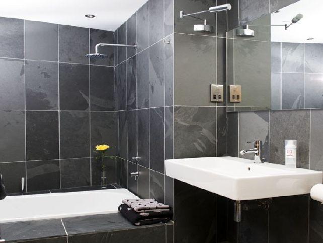 Grey Tile Bathroom Ideas