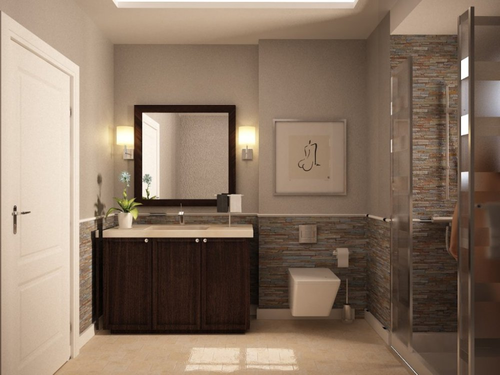 Guest Bathroom Ideas Tile