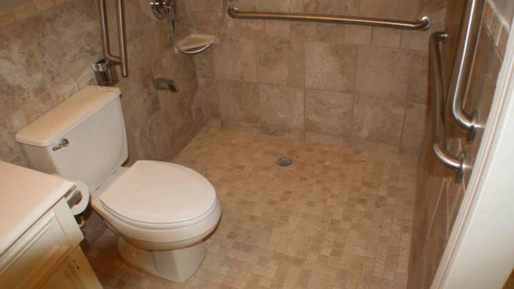 Handicap Bathroom Shower Ideas