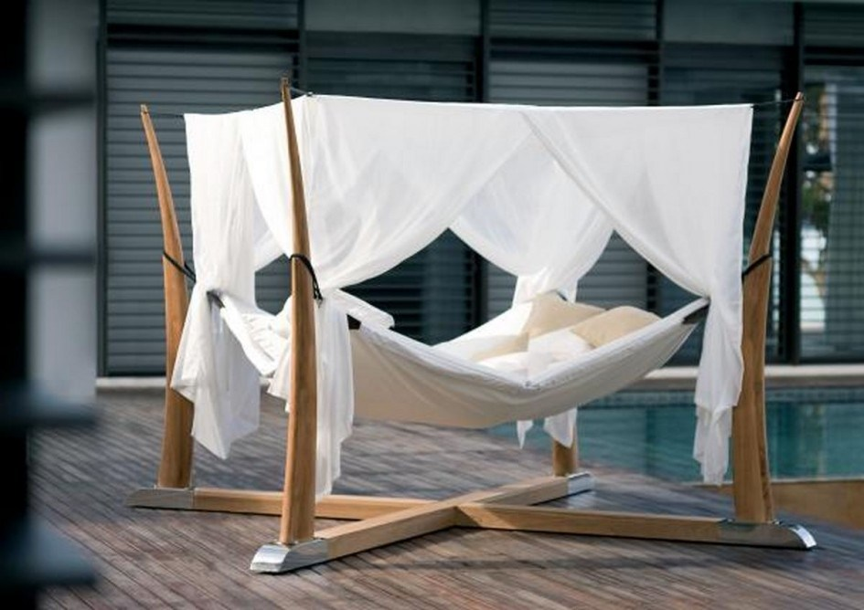 Hanging Bed Canopy Frame