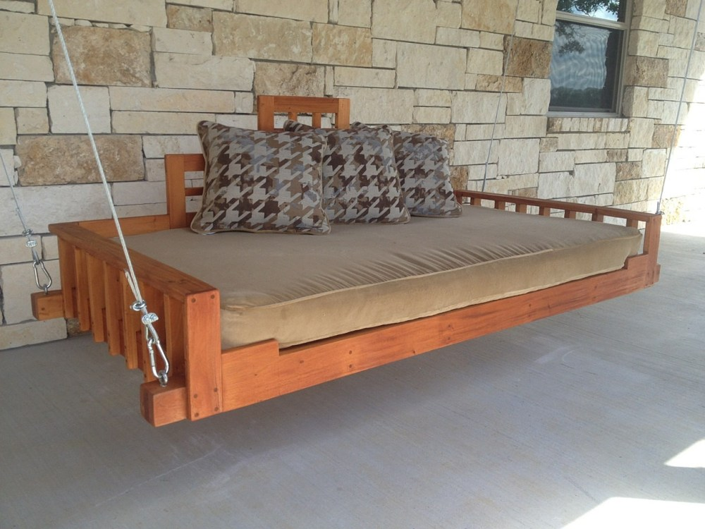 Hanging Bed Frame Design