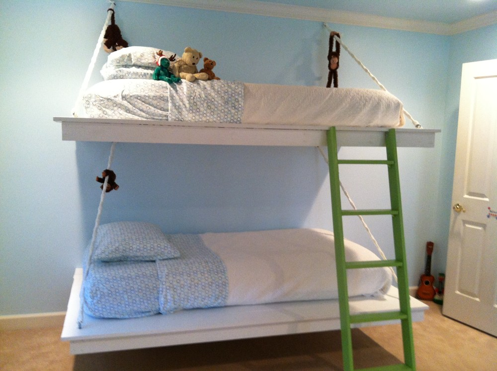 Hanging Twin Bed Frame