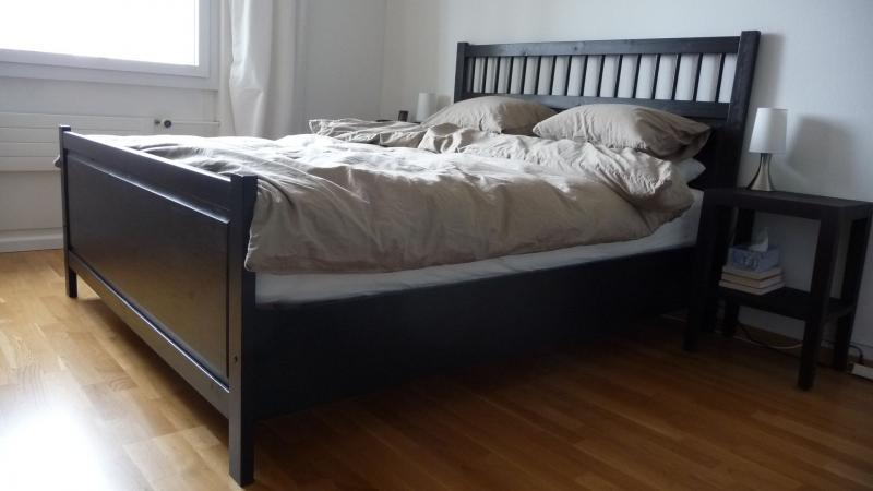 Hemnes Queen Bed Frame Ikea