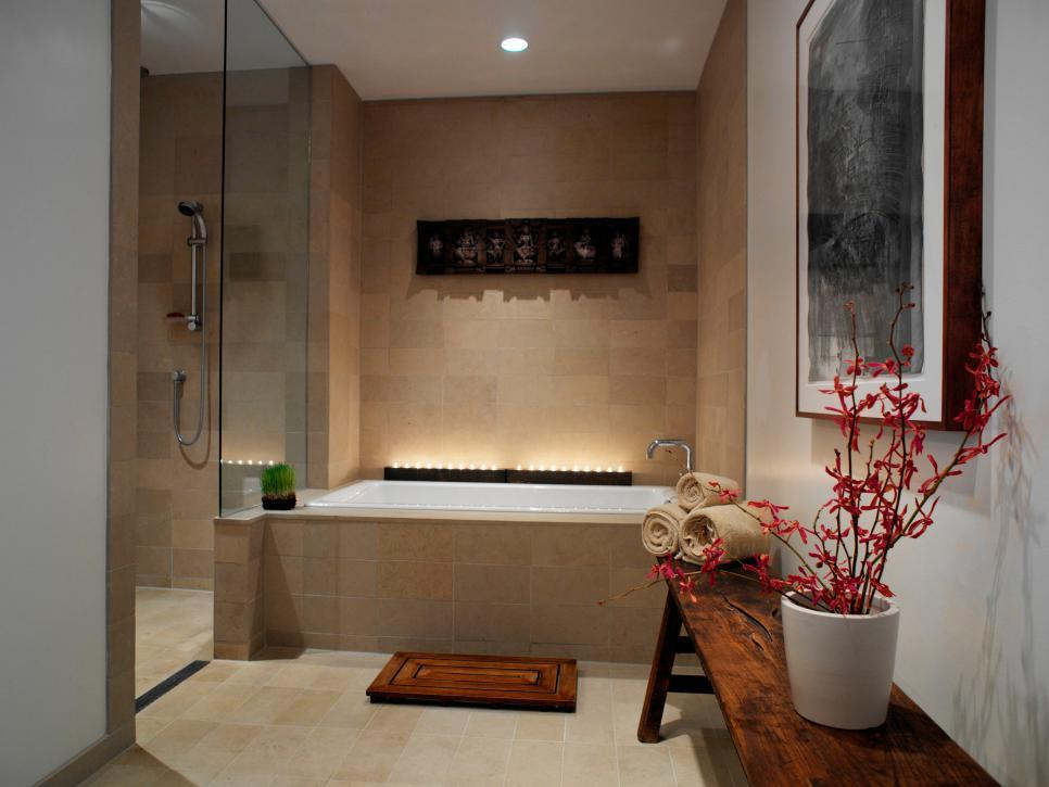 Hgtv Spa Bathroom Ideas