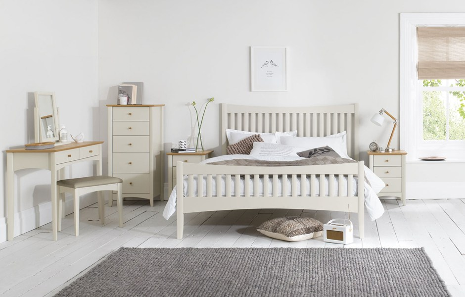 High Bed Frame King Size