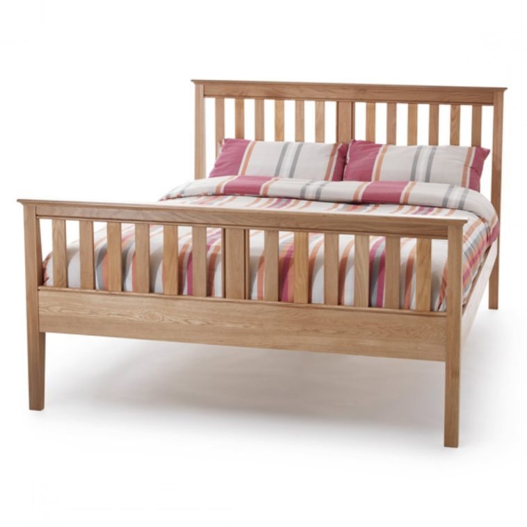 High Bed Frames With Headboards
