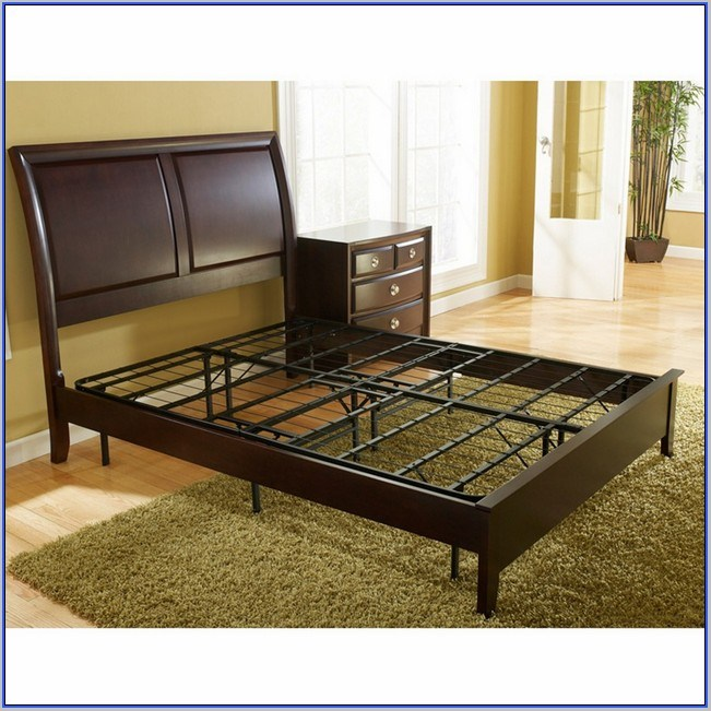 High Queen Platform Bed Frame