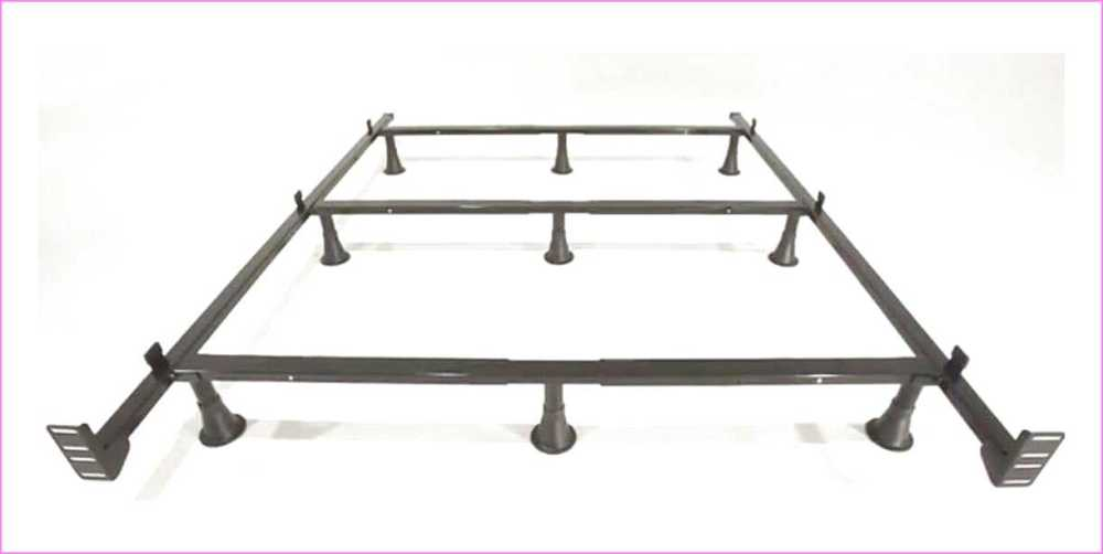 High Rise Full Size Bed Frame