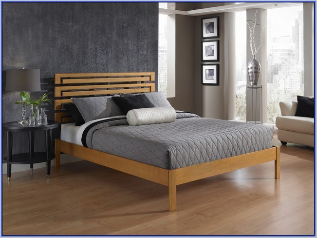 High Rise Platform Bed Frame Full
