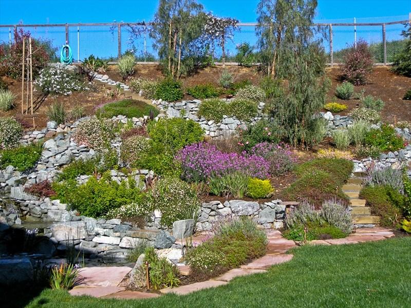 Hillside Landscaping Ideas Pinterest