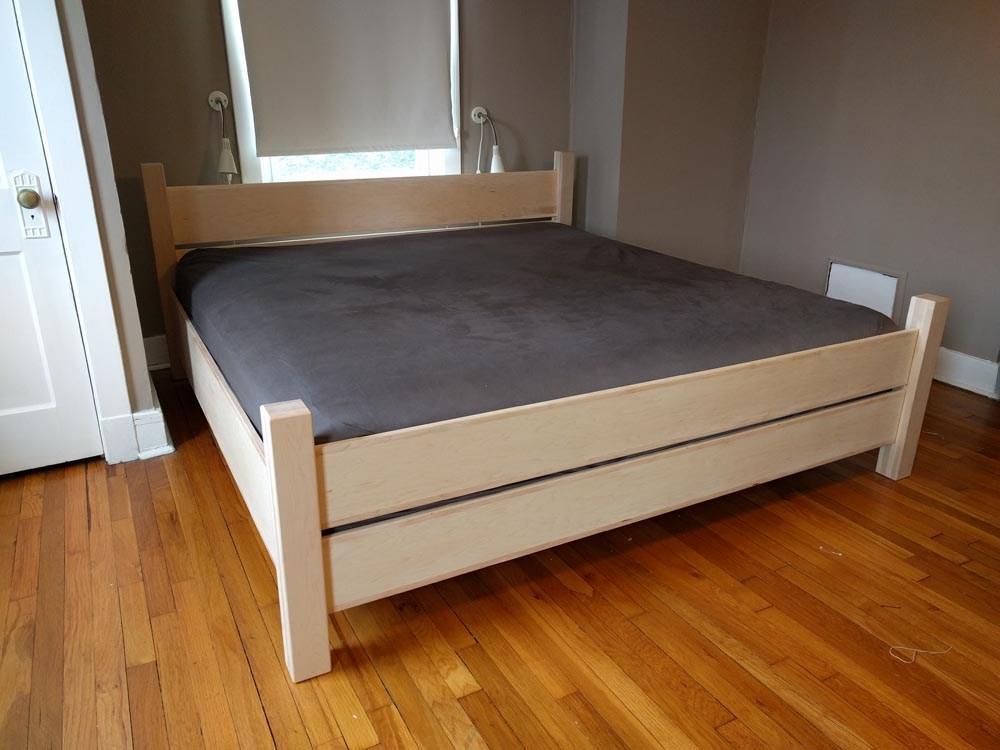 Home Depot Bed Frame Diy