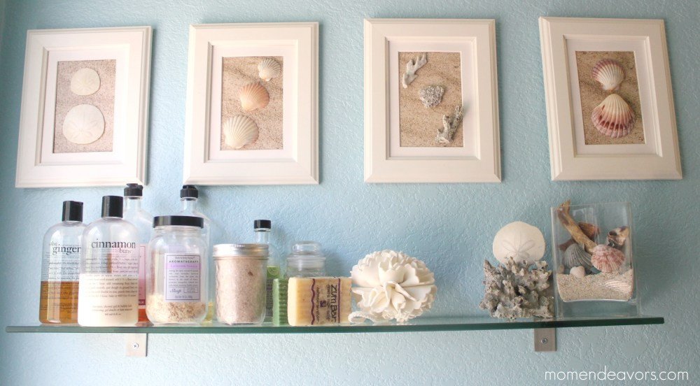 Homemade Bathroom Art Ideas