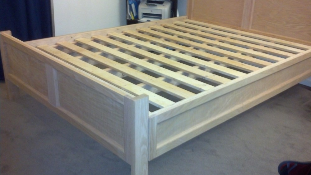 Homemade Bed Frame With Drawers