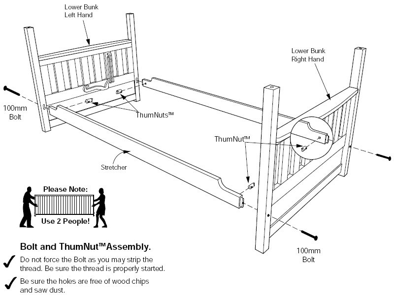 How To Assemble A Bed Frame