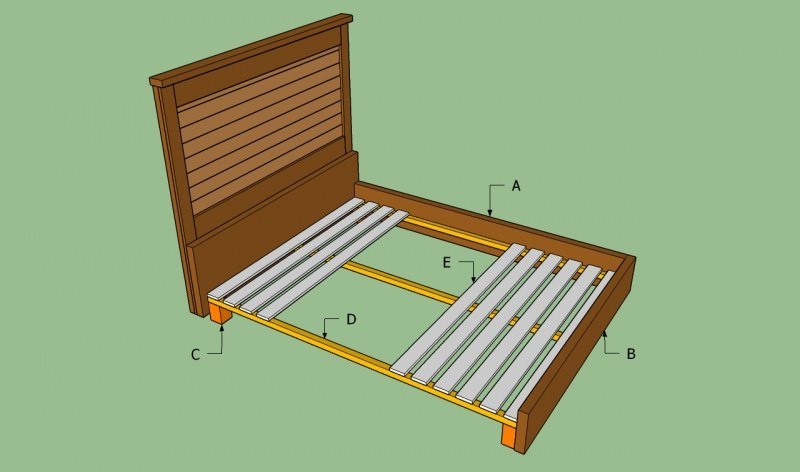 How To Build A Mid Century Modern Bed Frame