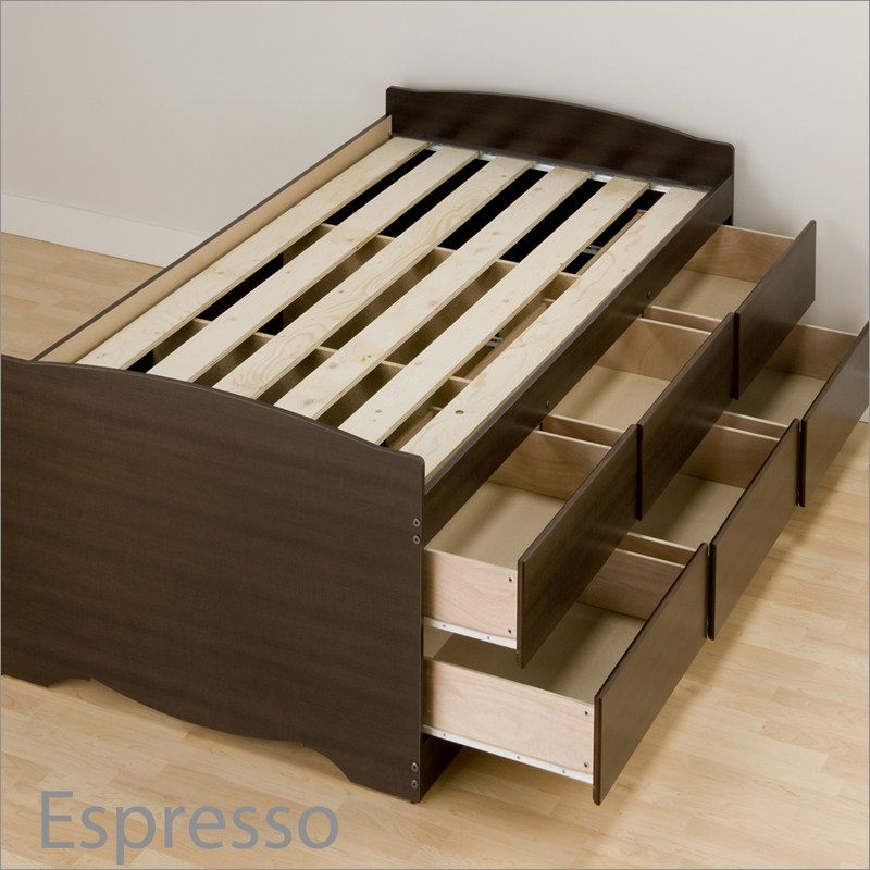 How To Build A Platform Bed Frame Instructions