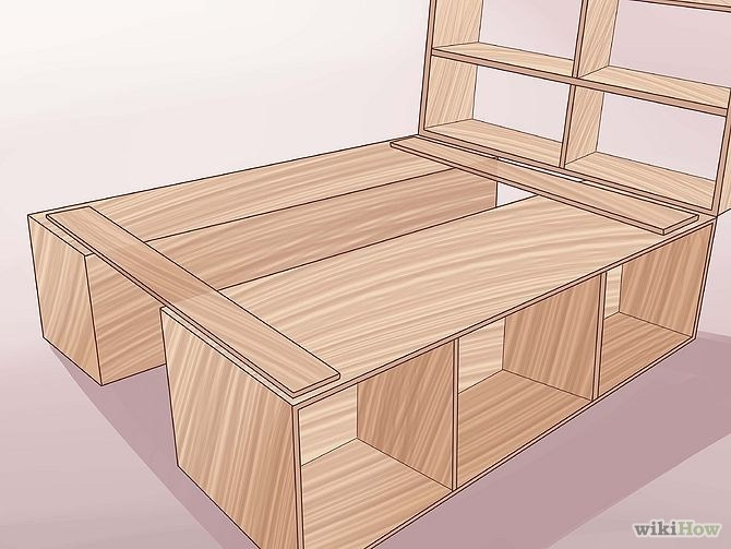How To Build A Wooden King Size Bed Frame